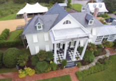 Aerial of the White Dog Bistro